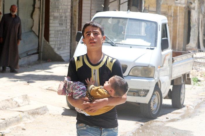 Πάνω από  50 οι νεκροί στους βομβαρδισμούς του Χαλεπίου