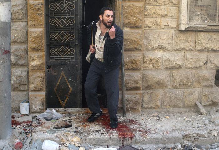 Πάνω από  50 οι νεκροί στους βομβαρδισμούς του Χαλεπίου - εικόνα 2