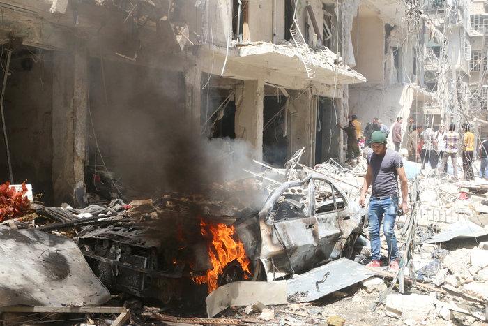 Πάνω από  50 οι νεκροί στους βομβαρδισμούς του Χαλεπίου - εικόνα 3