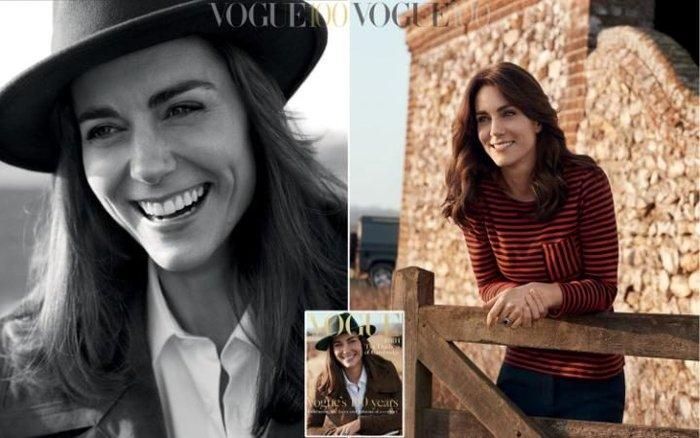 Η Κέιτ δεν φοβάται τη σύγκριση με τη Νταϊάνα και φωτογραφίζεται στη Vogue - εικόνα 2