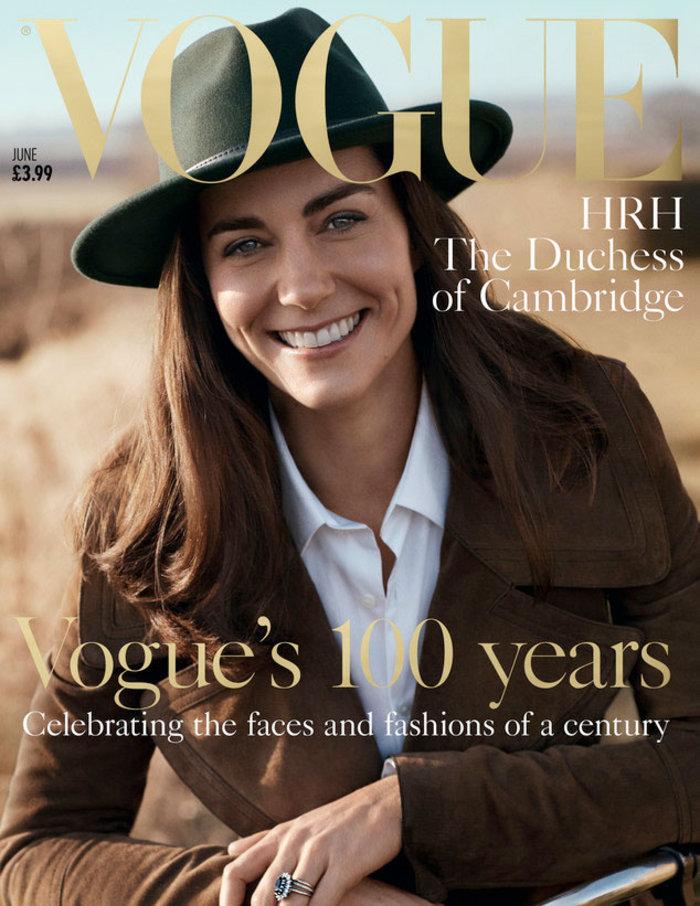 Η Κέιτ δεν φοβάται τη σύγκριση με τη Νταϊάνα και φωτογραφίζεται στη Vogue - εικόνα 3