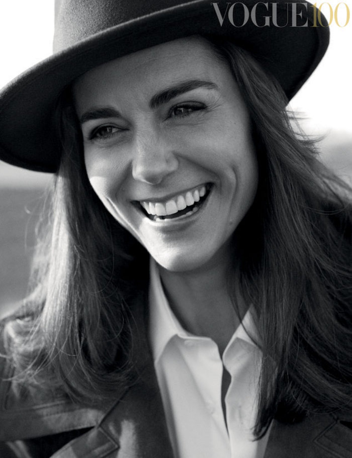 Η Κέιτ δεν φοβάται τη σύγκριση με τη Νταϊάνα και φωτογραφίζεται στη Vogue - εικόνα 4