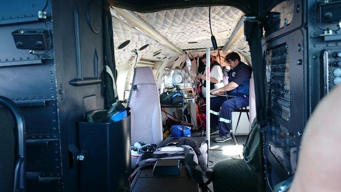 «Ελικοπτεράδες» Πυροσβεστικής: Οταν δεν σβήνουν φωτιές, σώζουν ζωές - εικόνα 4