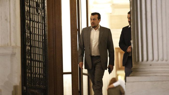 Ο υπουργός Επικρατείας και στενός συνεργάτης του πρωθυπουργού Νίκος Παππάς