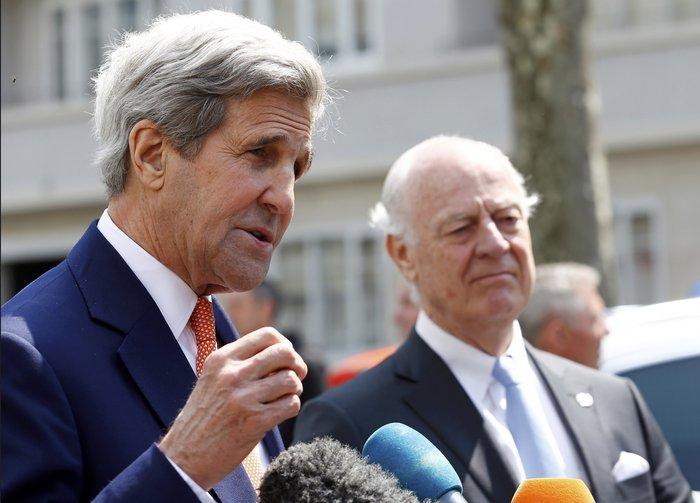 Κέρι: Εκτός ελέγχου η κατάσταση στη Συρία