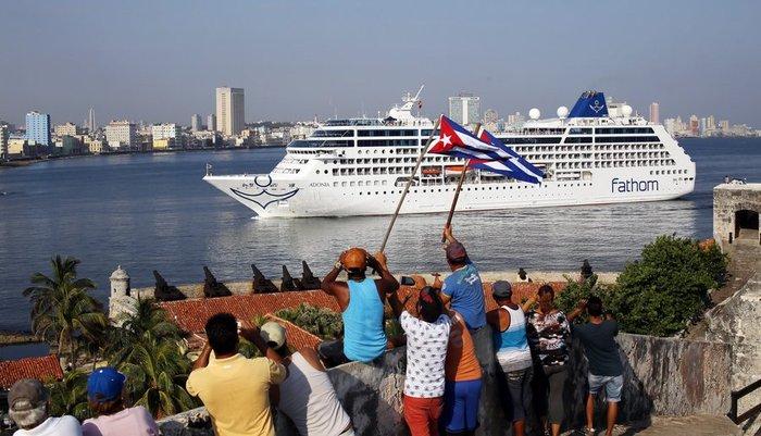 Στην Αβάνα αμερικανικό κρουαζιερόπλοιο μετά από 40 χρόνια