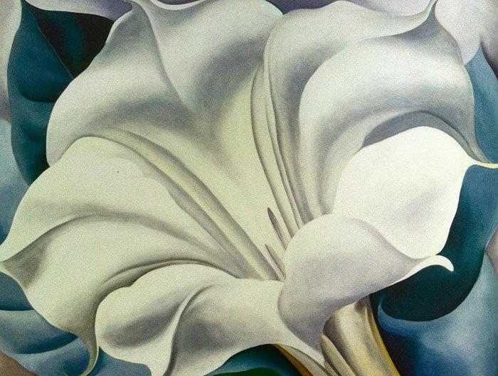 Τζόρτζια Ό Κιφ: Ύμνος στα πιο ερωτικά λουλούδια της τέχνης στην Tate - εικόνα 10