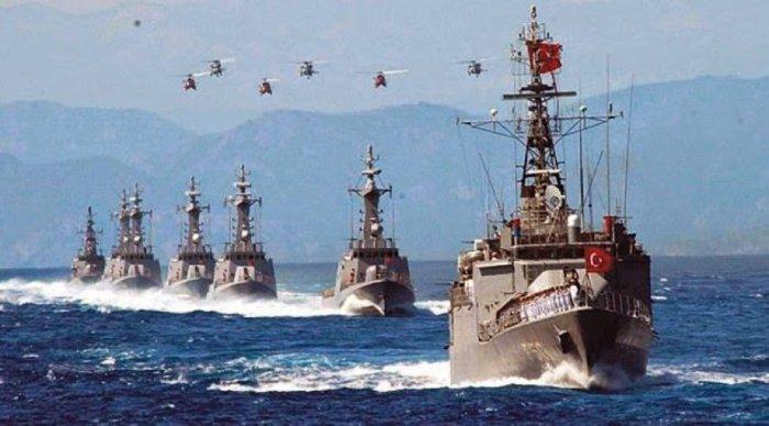 «Διχοτομούν» το Αιγαίο για ναυτικές ασκήσεις οι Τούρκοι