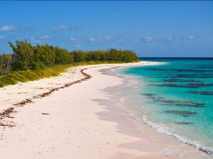 Παραλία της Ροζ ΄Αμμου, στο νησί Harbour, Μπαχάμες