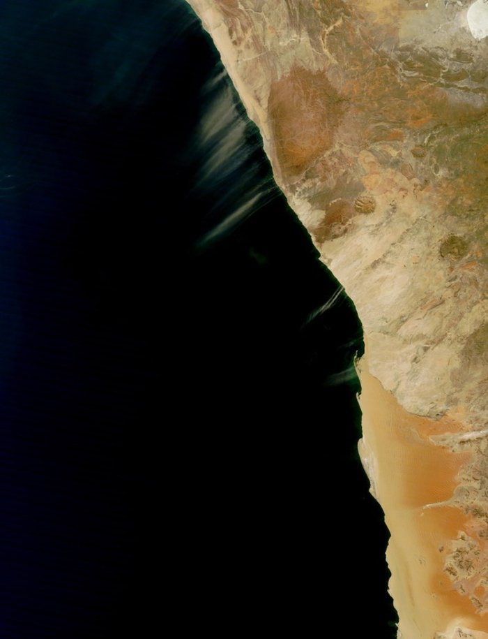 Σκόνη στη Ναμίμπια
