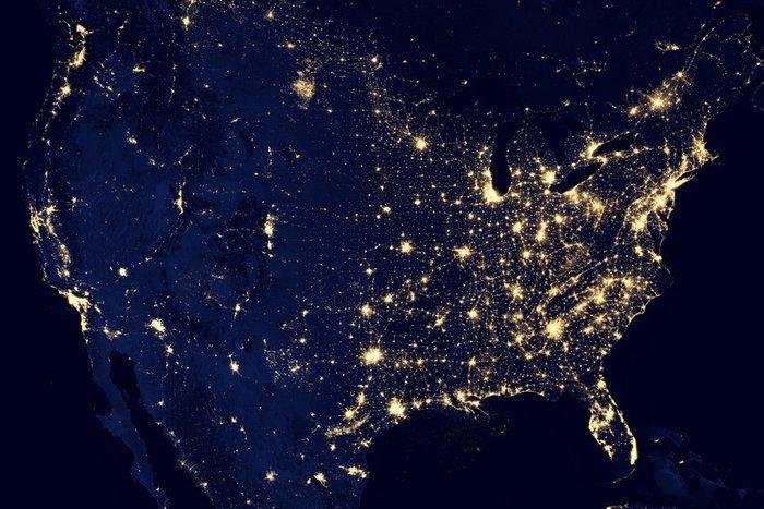ΗΠΑ τη νύχτα