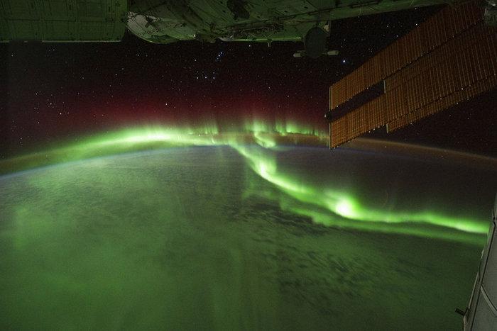Λήψη από το Διεθνή Διαστημικό Σταθμό της NASA με μια Nikon
