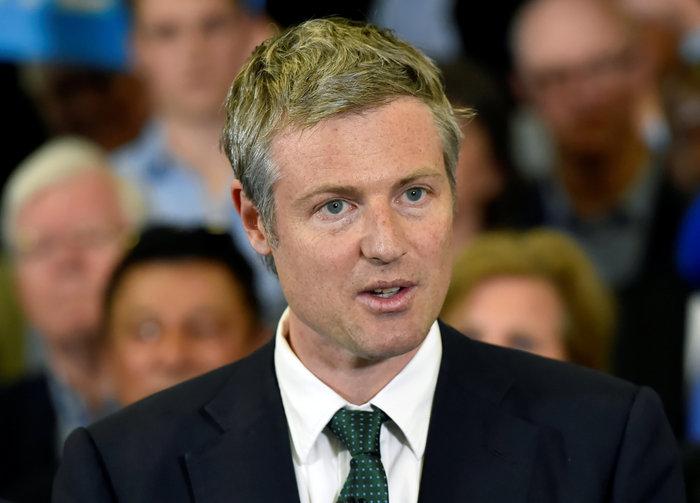 Ο υποψήφιος των Συντηρητικών Ζακ Γκόλντσμιθ