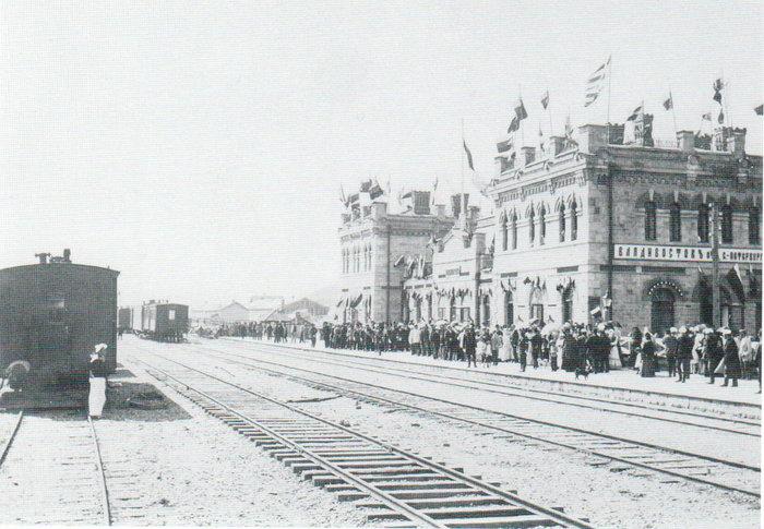 Ο σταθμός του Βλαδιβοστόκ