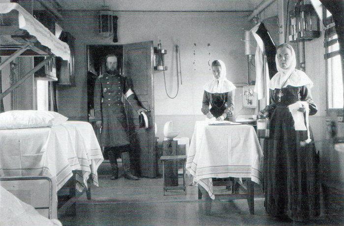 Νοσοκομειακό βαγόνι του Ρώσικου Ερυθρού Σταυρού