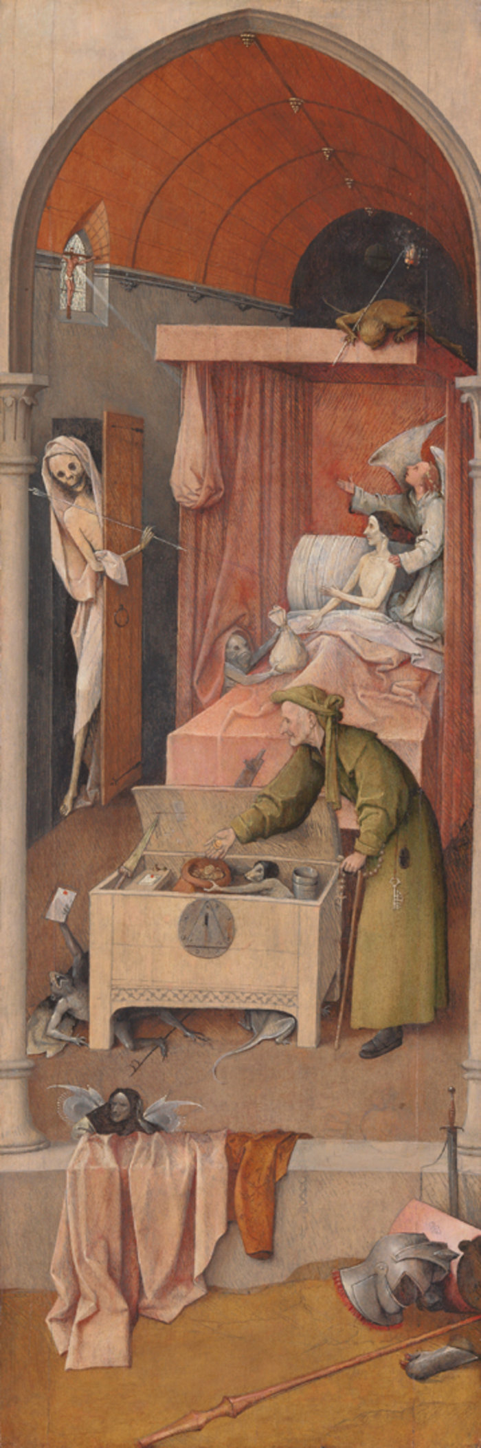 Death and the Miser, Washington, National Gallery of Art