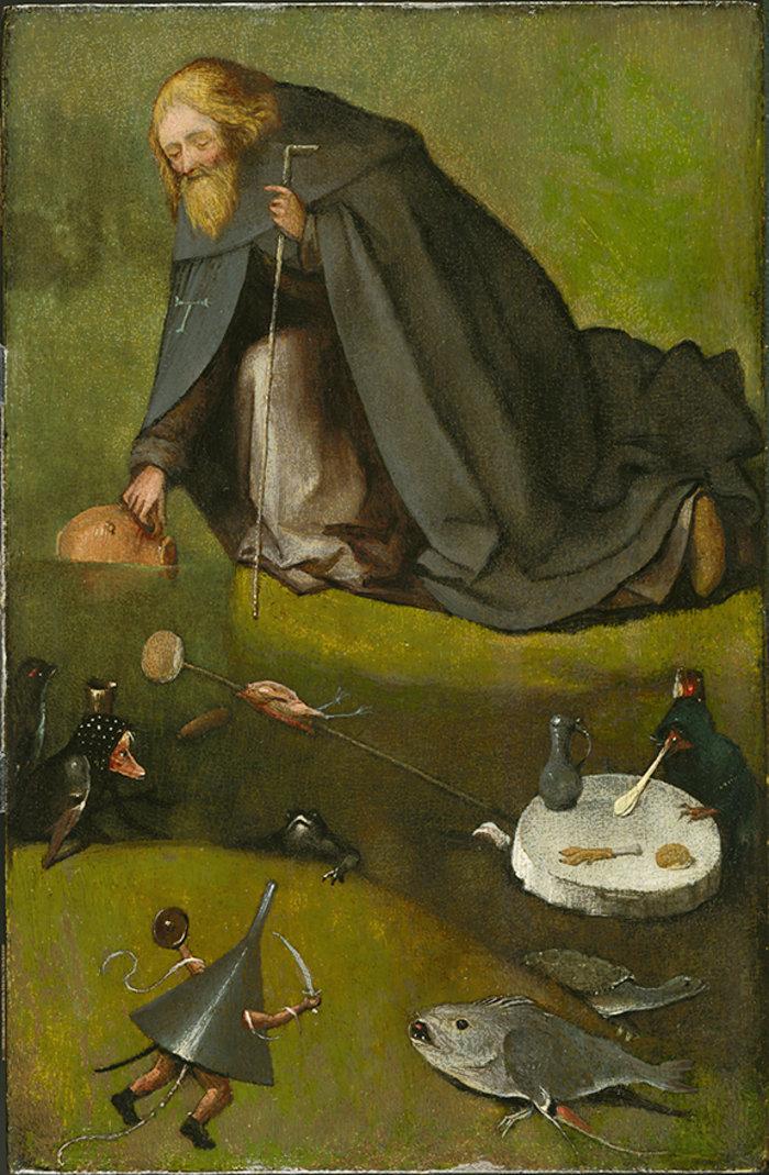 The Temptation of Saint Anthony (fragment),Kansas City, Missouri, The Nelson-Atkins Museum of Art