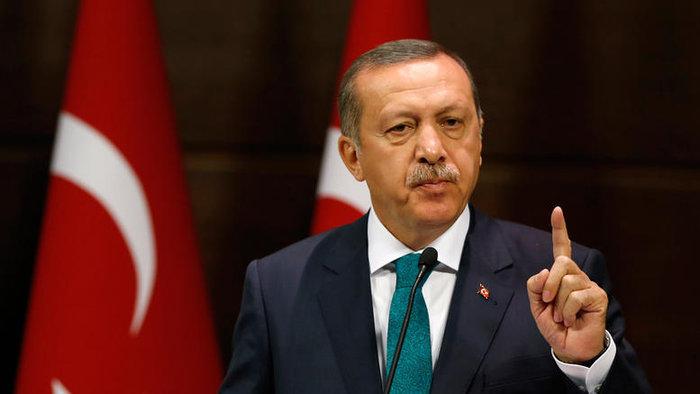 O τούρκος πρόεδρος Ταγίπ Ερντογάν