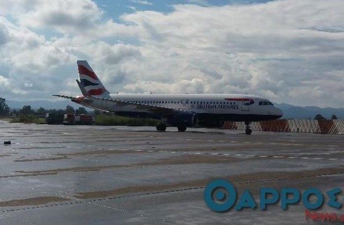 Η British Airways έφτασε...πανηγυρικά στην Καλαμάτα: δείτε εικόνες & video - εικόνα 2