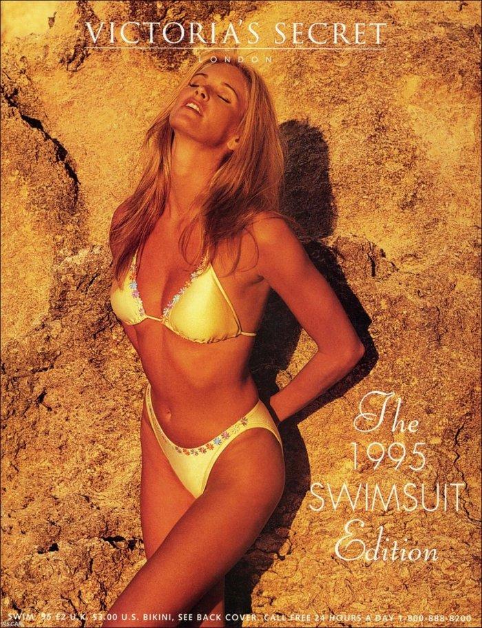 Για τον κατάλογο με μαγιό του Victoria's Secret (1995)