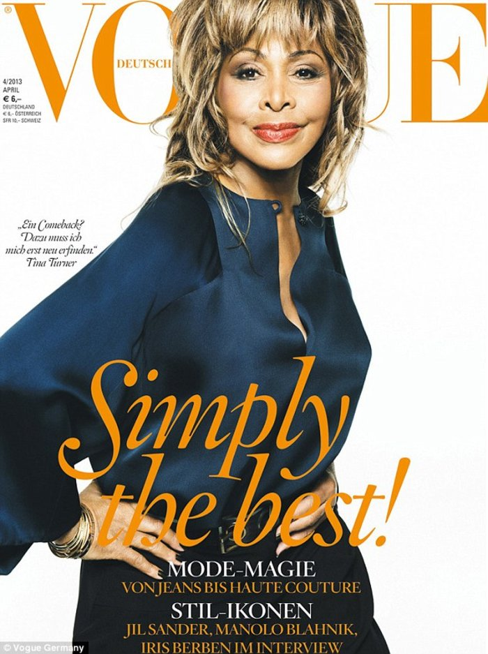 Tina Turner: Στα 73 της εξώφυλλο στη Vogue - εικόνα 2