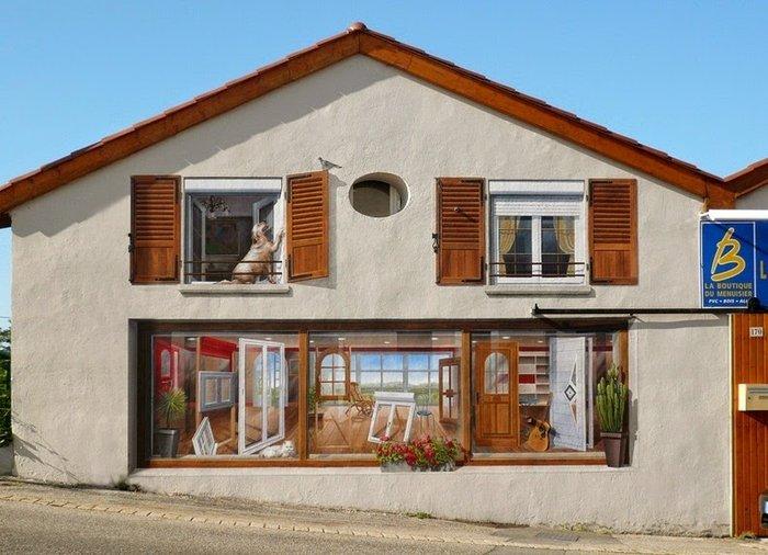 Γάλλος καλλιτέχνης φτιάχνει παραμυθένιες γειτονιές σε άχαρους τοίχους - εικόνα 8