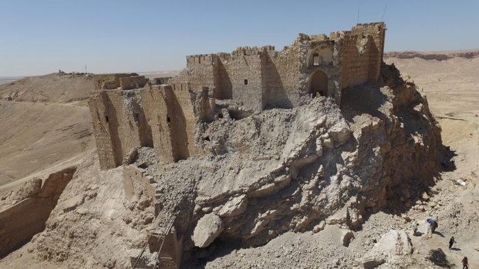 Αεροφωτογραφίες και βίντεο της Παλμύρας δείχνουν την απόλυτη καταστροφή