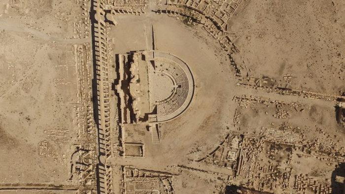 Αεροφωτογραφίες και βίντεο της Παλμύρας δείχνουν την απόλυτη καταστροφή - εικόνα 5
