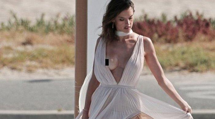 Το σέξι «ατύχημα» της Alessandra Ambrosio σε κοινή θέα - εικόνα 3