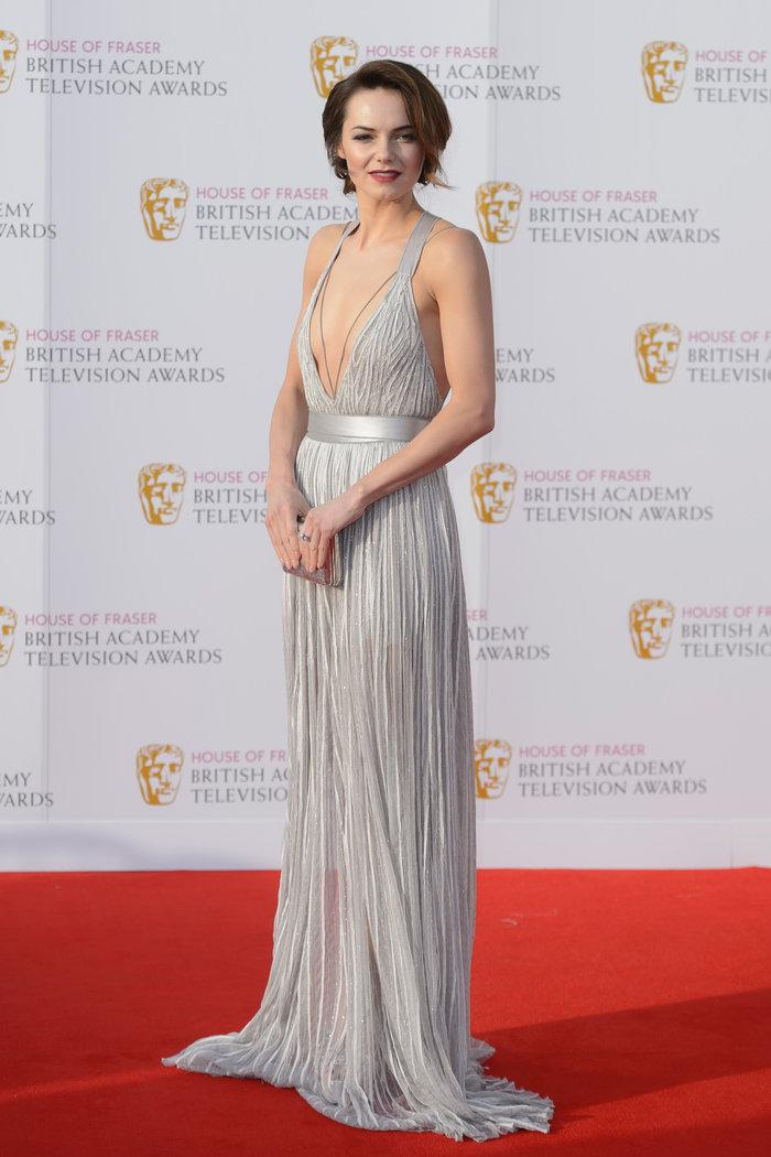 Βραβεία BAFTA TV 2016 με λάμψη στο κόκκινο χαλί - εικόνα 12