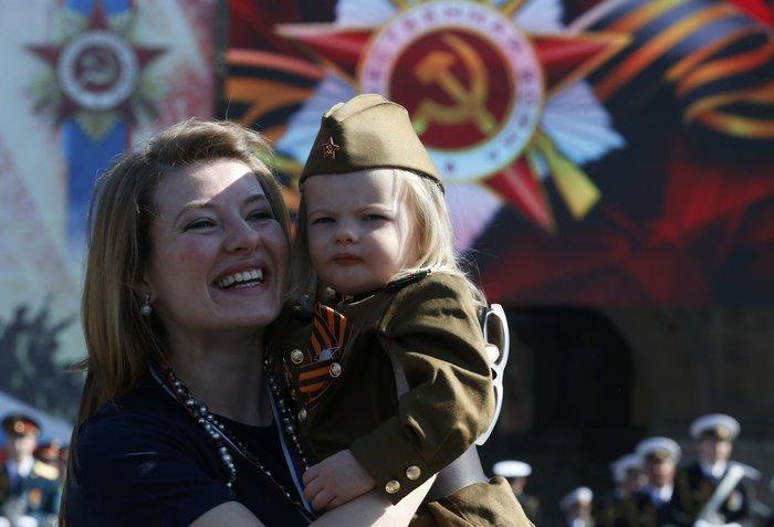 Η μεγαλειώδης παρέλαση στην Κόκκινη Πλατεία για τη νίκη επί των ναζί - εικόνα 3