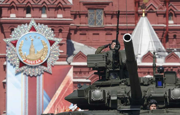 Η μεγαλειώδης παρέλαση στην Κόκκινη Πλατεία για τη νίκη επί των ναζί - εικόνα 18