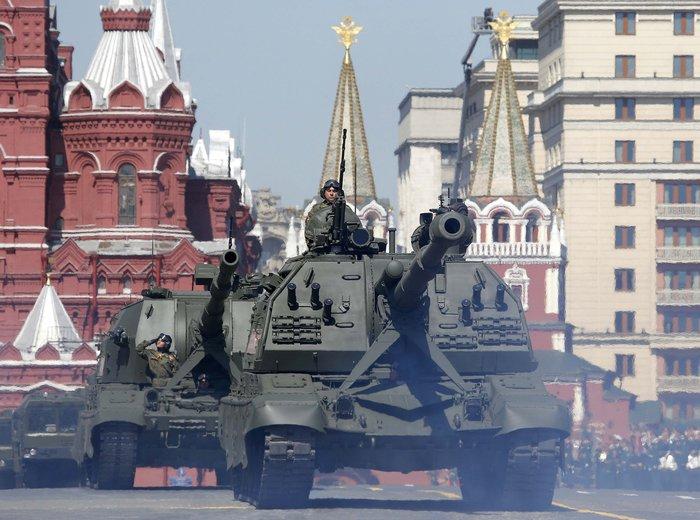 Η μεγαλειώδης παρέλαση στην Κόκκινη Πλατεία για τη νίκη επί των ναζί - εικόνα 22