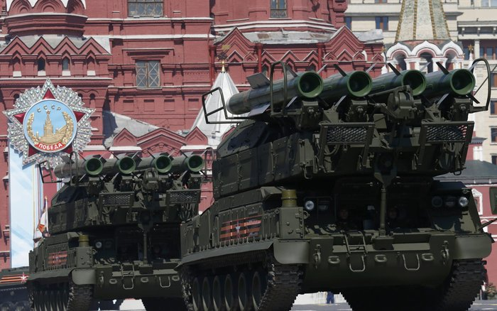 Η μεγαλειώδης παρέλαση στην Κόκκινη Πλατεία για τη νίκη επί των ναζί - εικόνα 25