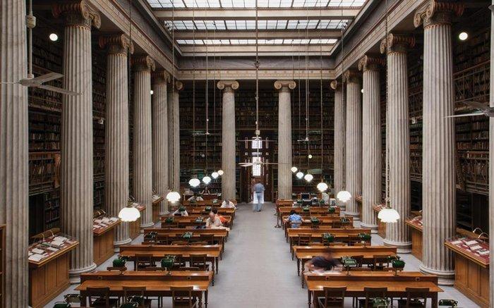 Στα άδυτα της γνώσης:16 υπέροχες βιβλιοθήκες στην Αθήνα
