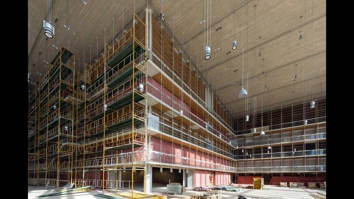 Η Νέα Εθνική Βιβλιοθήκη στο Φάληρο