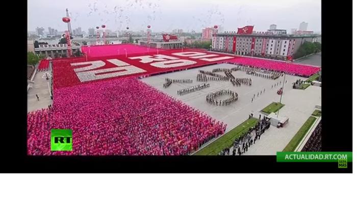 Αποθεώθηκε ο Κιμ Γιονγκ Ουν στο συνέδριο του κόμματος - εικόνα 3