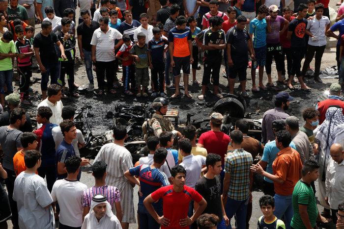 Mακελειό από τον ISIS στη Βαγδάτη- 50 νεκροί