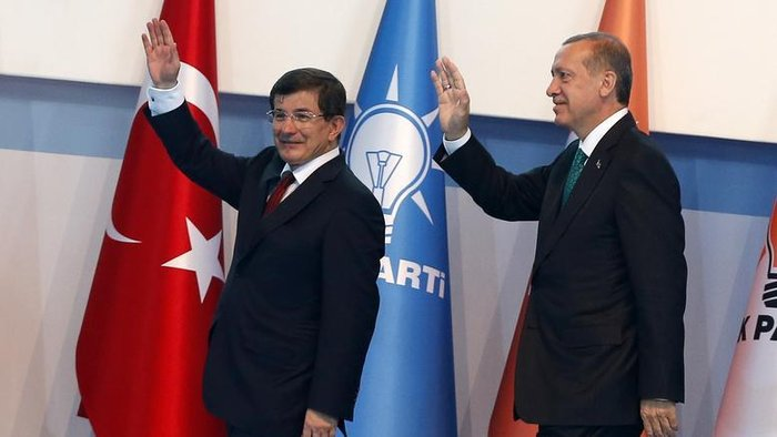 Ταγίπ Ερντογάν και Αχμέτ Νταβούτογλου