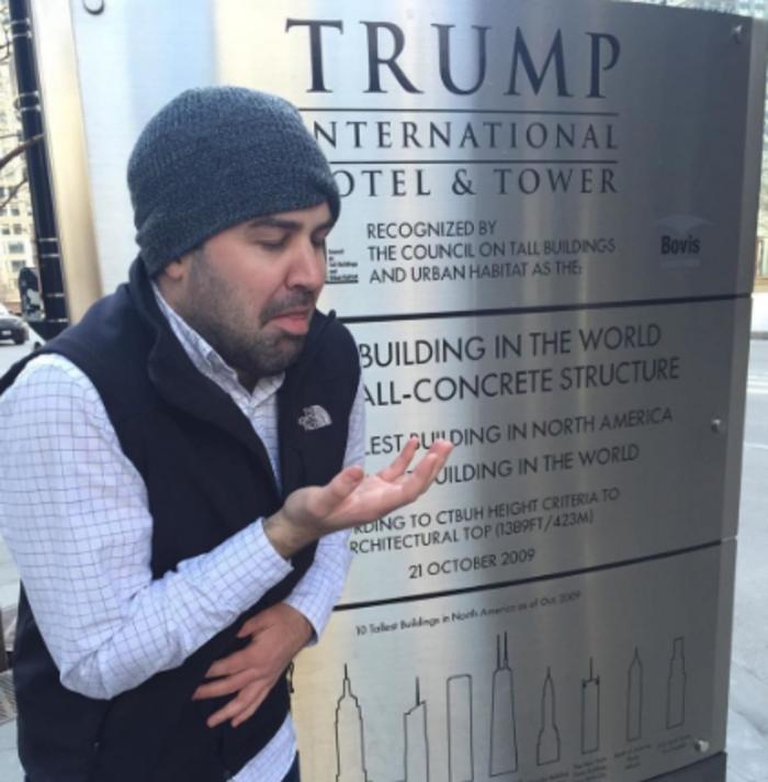 H νέα μόδα στο Instagram: Υψώνοντας το μεσαίο δάκτυλο στους πύργους Τραμπ - εικόνα 10