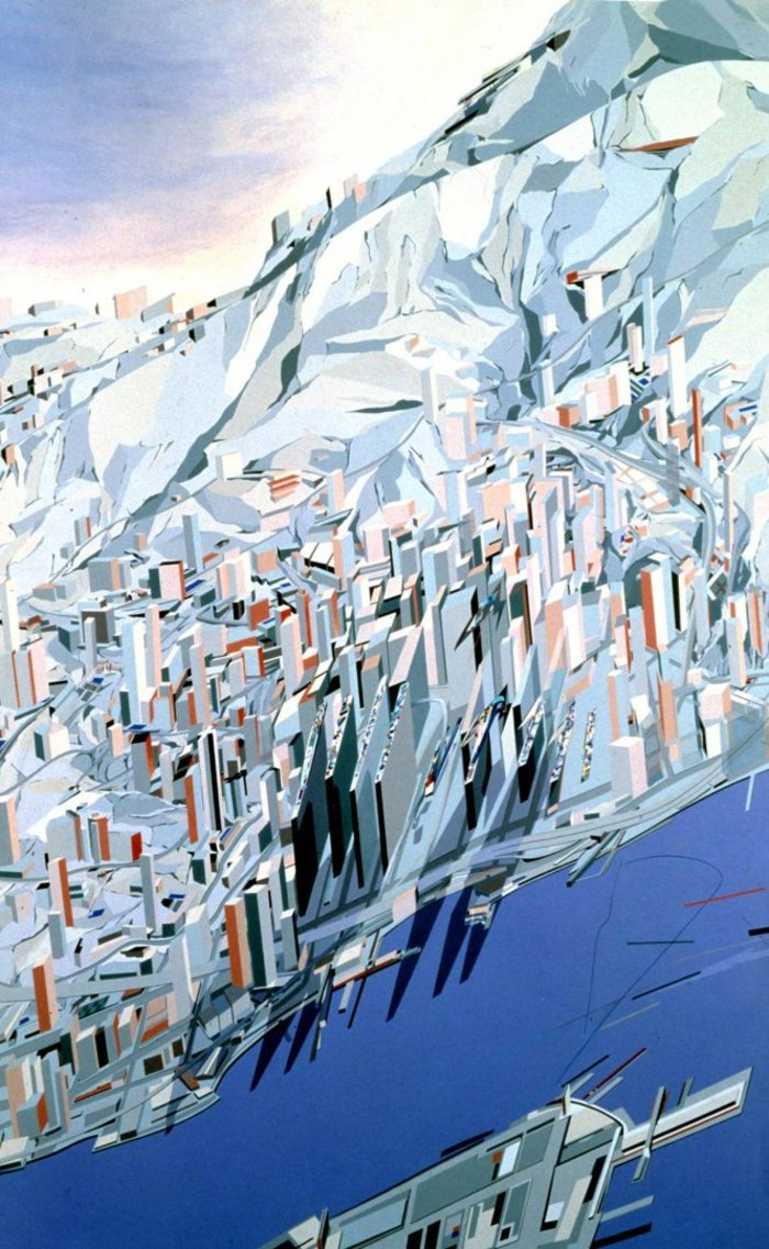 Zaha Hadid, The Peak.