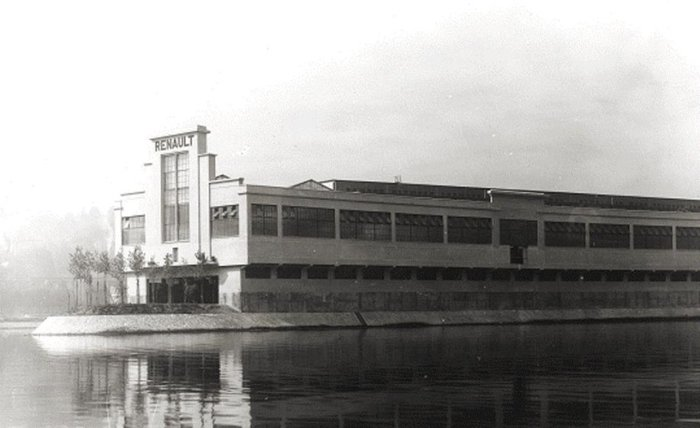 Εργοστάσιο της Renault στο Île Seguin