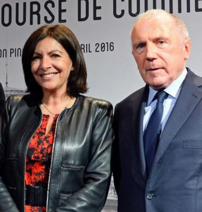 Anne Hidalgo, François Pinault