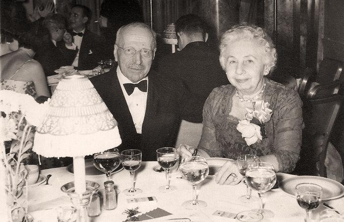 Με τη σύζυγό του Μάχη σε επίσημη εκδήλωση στη Νέα Υόρκη