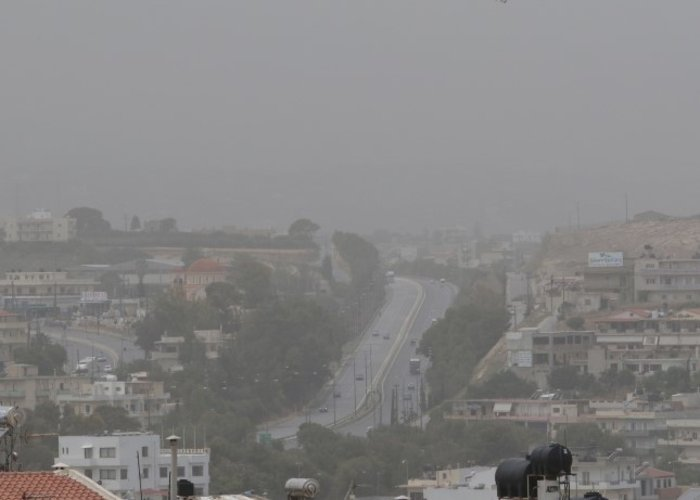 «Χάθηκε» το Ηράκλειο από την αφρικανική σκόνη - εικόνα 4