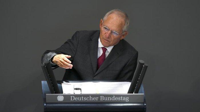 Ο γερμανός υπουργός Οικονομικών Β. Σόιμπλε