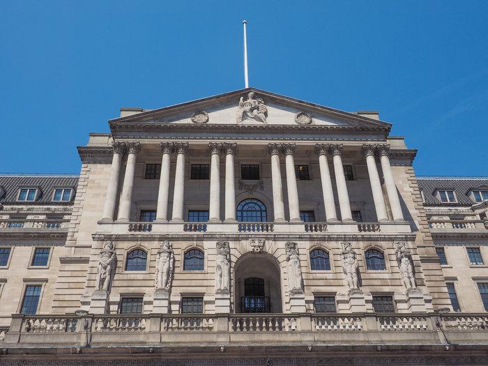 Το κεντρικό κτίριο της Τράπεζας της Αγγλίας
