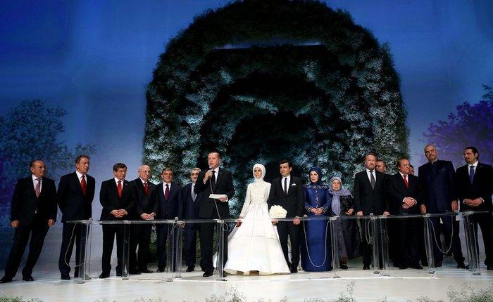 «Βασιλικός» γάμος στην Τουρκία με πολιτικές προεκτάσεις