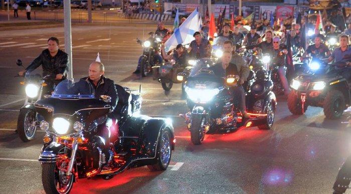Οι «Λύκοι της νύχτας» του Πούτιν στο Άγιο Ορος - εικόνα 2
