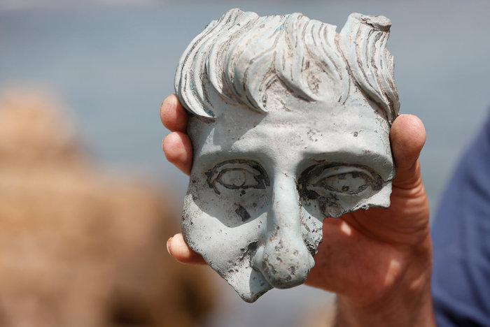 Ανακάλυψαν ρωμαϊκό ναυάγιο στο αρχαίο λιμάνι της Καισάρειας - εικόνα 2